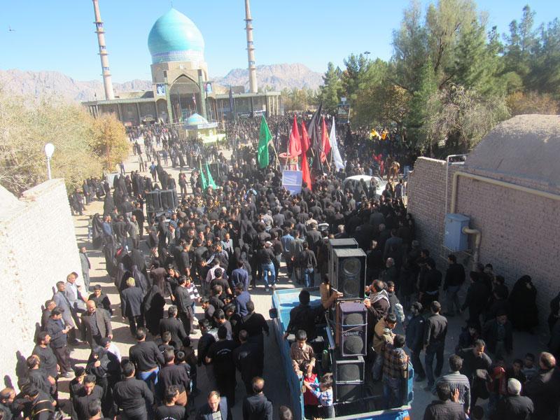 حرکت کاروان های پیاده روی امام رضا علیه السلام