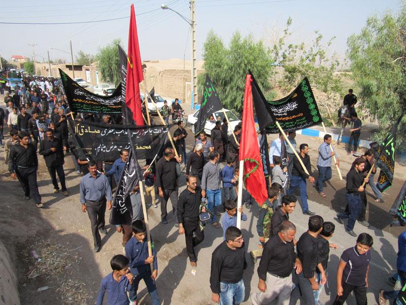 نهمین حرکت کاروان صادقیون در رفسنجان برگزار شد به نقل از خبرگزاری فارس