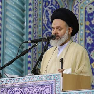 """آیتالله حسینی بوشهری: """"مصوبه سنا"""" اوج خباثت آمریکاییها است/ مسئله فلسطین مسئله نخست امت اسلامی است"""