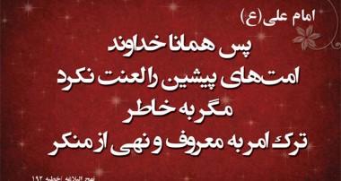 امر به معروف و نهي از منکر و نصيحت حاکمان اسلامي