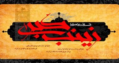 ویژه وفات حضرت زینب سلام الله علیها