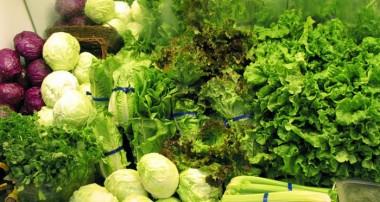 فهرستی از سبزیجات سبز
