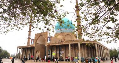 جشن میلاد نور در صحن مقدس امامزاده سید جلال الدین اشرف