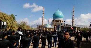 بزرگداشت روز عاشورا در امامزاده سید جلال الدین اشرف