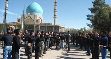 حماسه کاروان عظیم اربعین حسینی در امامزاده سید جلال الدین اشرف