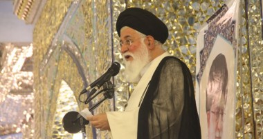 آیتالله علمالهدی : عزت و رشد جمهوری اسلامی در گرو استکبارستیزی است/ نتیجه بازگشت بهسوی آمریکا جز ذلت، بدبختی و نکبت نیست