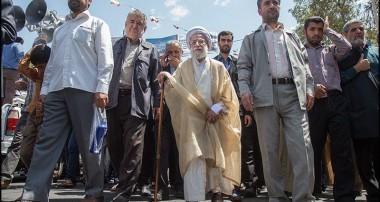 آیت الله جنتی: برای مردم ایران روز قدس و 22 بهمن هیچ تفاوتی ندارد/ تا انقلاب هست «مرگ بر آمریکا و مرگ بر اسرائیل» ادامه دارد
