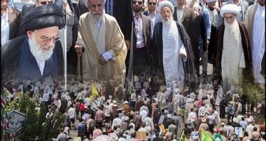 حضور مراجع در راهپیمایی روز قدس؛ تقدیر مراجع از حماسه آفرینی مردم ایران/ امت اسلام خائنان به فلسطین را فراموش نخواهند کرد