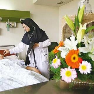 آداب عیادت از بیمار (1)
