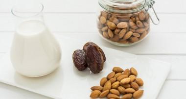 حقایق تغذیهای شیر بادام