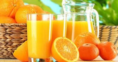 اطلاعات تغذیهای آب پرتقال