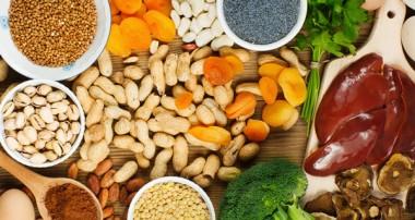 فهرست مواد غذایی سرشار از آهن -۲
