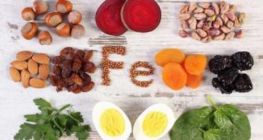 فهرست مواد غذایی سرشار از آهن -۱