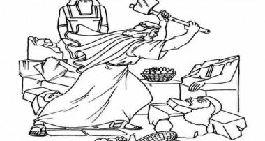 شکستن بتها توسط ابراهیم